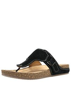 clarks-rosilla-dover-suede-sandal
