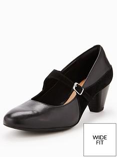 clarks-wide-fit-clarks-denny-bradford-heeled-shoe