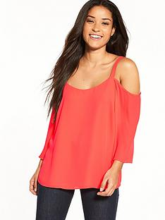 wallis-strap-back-cold-shoulder-top