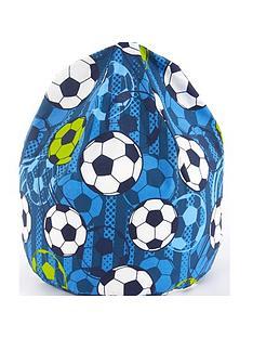 football-print-beanbag