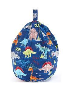 dinosaur-print-beanbag
