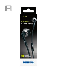philips-hs-ear-buds-15mm-speakers-with-bass-booster-black