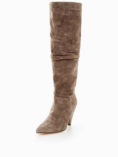v-by-very-icy-suede-ruched-slouch-knee-boot-grey