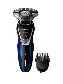 philips-series-5000-wet-and-dry-mens-electric-shaver-with-turbo-mode-amp-beard-trimmer-s557240