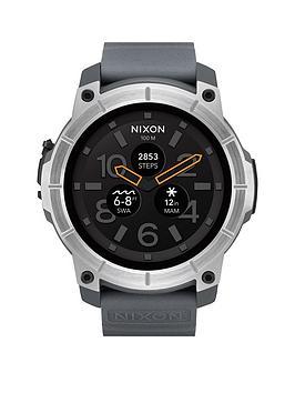 nixon-mission-grey-silicone-strapnbspsmartwatch