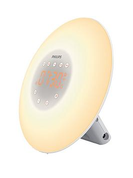 Philips Philips Wake-Up Light Alarm Clock With Sunrise Simulation &Amp; 2  ... Picture