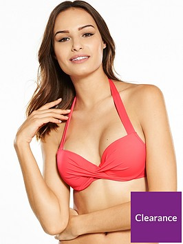 dorina-fiji-underwired-halter-neck-bikini-top-coral