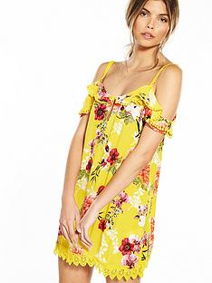 river-island-frill-hem-dress