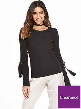river-island-black-d-ring-top