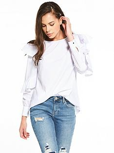 river-island-white-poplin-top