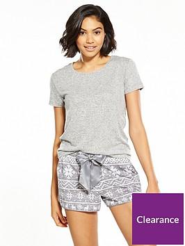 v-by-very-fair-isle-short-and-t-shirt-set