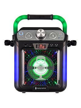 Very Singing Machine Sml682Btbk Bluetooth Cdg + Tablet Karaoke Machine Picture