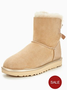 ugg-mini-bailey-bow-ii-metallic-boot