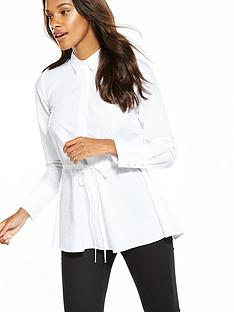 v-by-very-pearl-cuff-drawstring-shirt