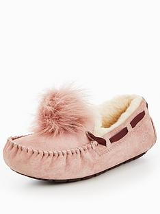 ugg-dakota-pom-pom-slipper