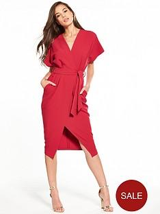 closet-wrap-tie-waist-dress