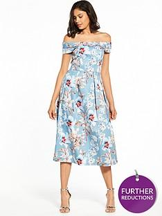 closet-closet-bardot-floral-midi-dress