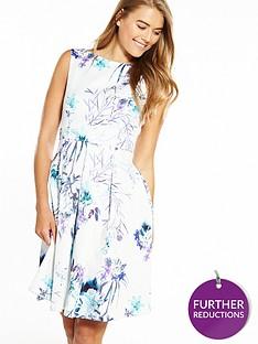 closet-sleeveless-pleat-front-floral-dress