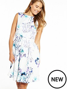 closet-sleeveless-pleat-front-floral-dress
