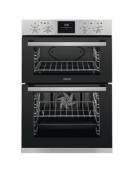 Zanussi Zod35660Xk Built In Double Electric Oven