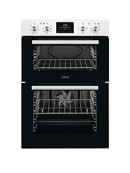 Zanussi Zod35661Wk Built In Double Electric Oven