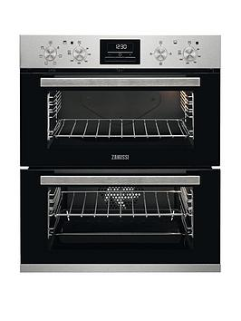 Zanussi Zof35601Xk Built Under Double Electric Oven