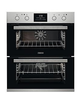 Zanussi Zof35802Xk Built Under Double Elelctric Oven
