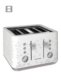 morphy-richards-prism-4-slice-toaster-white
