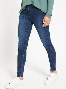 v-by-very-florence-valuenbsphigh-rise-skinny-jeans--nbspindigo