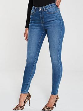 v-by-very-short-florence-high-rise-skinny-jeans-mid-wash