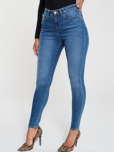 v-by-very-florence-high-rise-skinny-jeans-bluenbsp