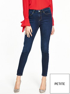 v-by-very-short-denni-mid-rise-skinny-indigo
