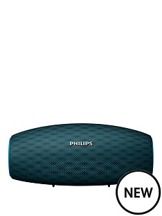 philips-wireless-portable-speaker-bt6900b-10w-10hr-long-bluetooth-range-waterproof-dustproof-quick-charge-option-teal