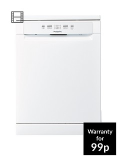 hotpoint-hfc2b26c-full-size-14-place-dishwasher-with-quick-wash-white