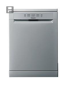 hotpoint-hfc2b19svnbsp13-place-full-size-dishwasher-with-quick-wash--nbspsilvergrey
