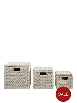 set-of-3-arrow-weave-lidded-storage-boxes
