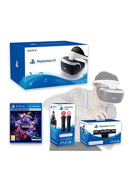 playstation-vr-headset-with-playstation-camera-vr-worlds-and-move-controller-twin-pack