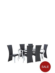 boutique-163-cm-dining-table-6-chairs