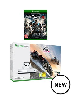 xbox-one-s-500gb-forza-horizon-3-with-gears-of-war-4-wireless-controller-and-12-months-live