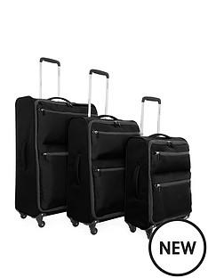 revelation-by-antler-weightless-4-wheel-3-piece-luggage-set