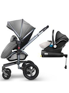 silver-cross-surf-3-graphite-pram-and-pushchair