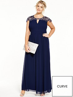 little-mistress-curve-little-mistress-curve-cap-sleeve-maxi-dress-navy