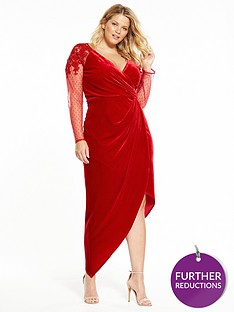 little-mistress-curve-red-wrap-dress
