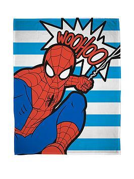 marvel-ultimate-spiderman-abstract-fleece-blanket