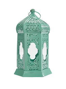 blue-metal-lantern