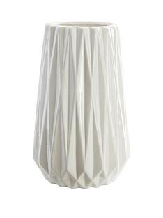 large-white-geometric-design-vase