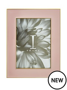 gold-and-pink-border-photo-frame