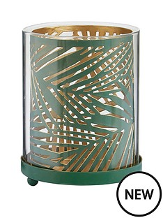 amazonia-small-green-palm-tea-light-holder