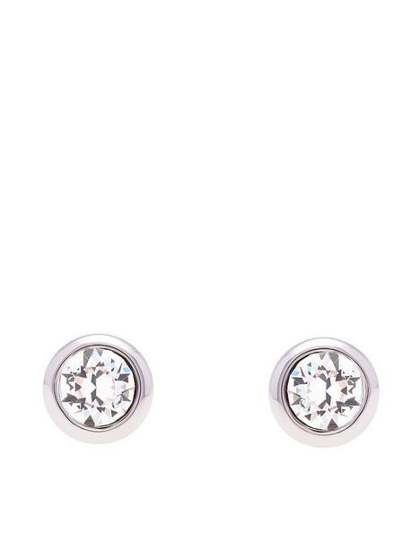 ted-baker-crystal-stud-earrings-silver