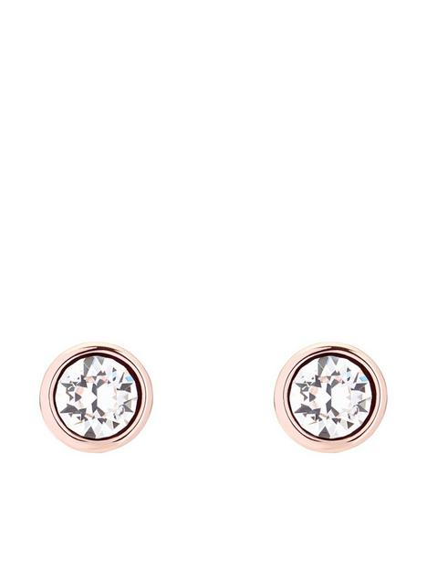 ted-baker-sinaa-crystal-stud-earrings-rose-gold